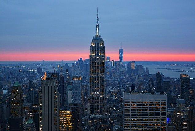 31. Top of the Rock, New York City