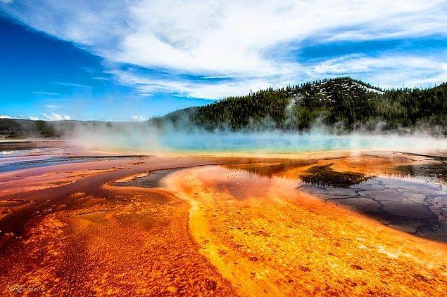32. Yellowstone Ulusal Parkı