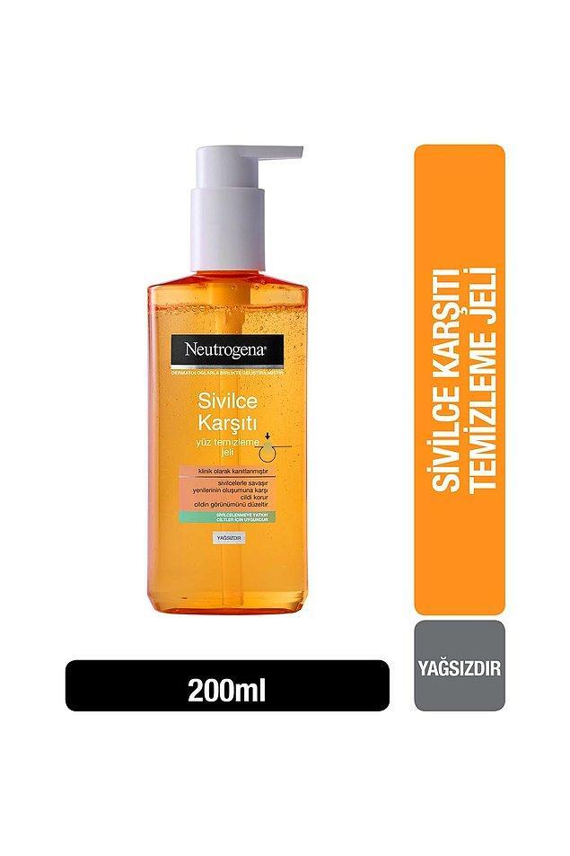 6. Neutrogena sivilce karşıtı yüz temizleme jeli, sivilcelenmeye yatkın cilde sahip olanların 1 numaralı tercihi olmuş.