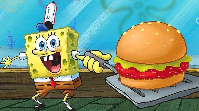 28. Sünger Bob'un ünlü hamburgeri Krabby Patty vejetaryen bir yiyecektir. Çizgi filmin yaratıcısı Stephen Hillenburg, hamburgerde hiçbir etin bulunmadığını söylemiş.