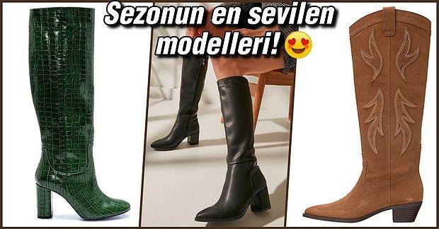 Bu Sonbahar En Güzeli Sizde Olacak! Yağmurdan Soğuktan Koruyan Çizme Model ve Fiyatları