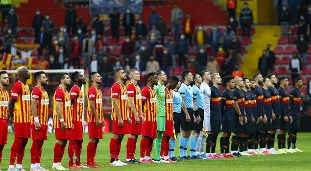 Süper Lig'in 6. haftasında Yukatel Kayserispor, Galatasaray'ı konuk etti.
