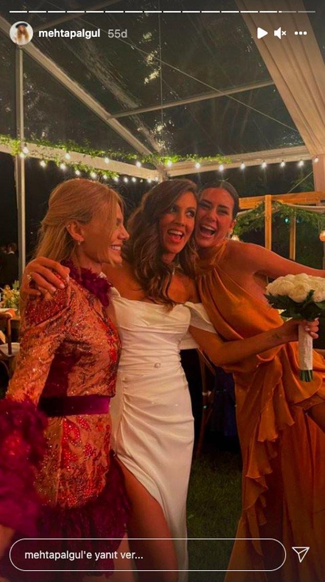 Ama hiç kuşkusuz düğüne damga vuran minik bir Sibil Çetinkaya vakası var! 😂