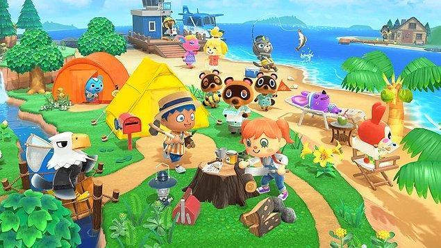 5. Animal Crossing: New Horizons