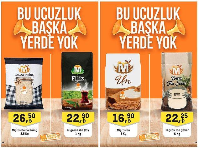 9. Migros Filiz Çay (1000 g) 22,90 TL.