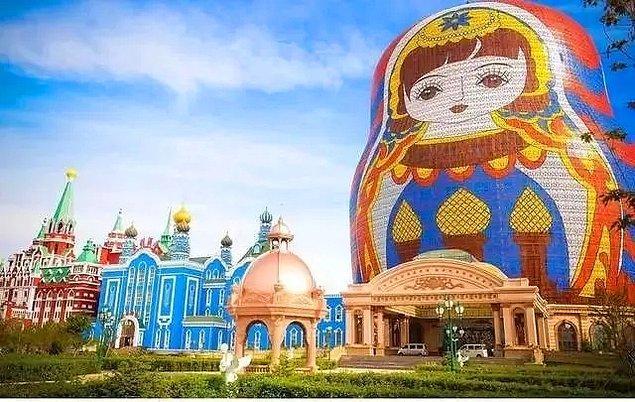 6. Matruşka Otel - Manzhouli / İç Moğolistan