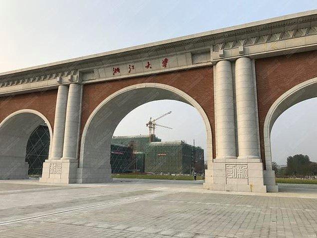 8. Zhejiang Üniversitesi Güney Kapı -  Zhejiang