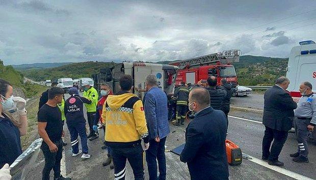 Bartın'da Yolcu Otobüsü Devrildi: 3 Kişi Öldü, Çok Sayıda Yaralı Var