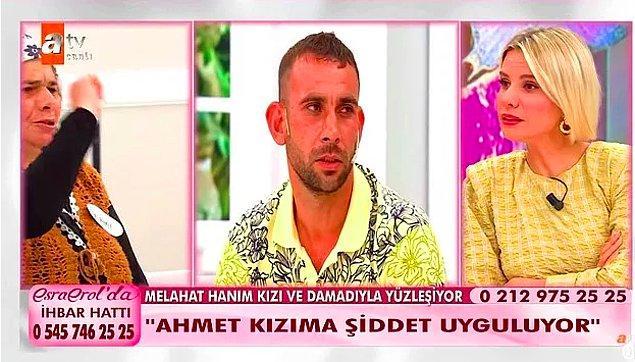 Canlı yayında da Ahmet, daha önce 4-5 evlilik yaptığını ve 14 yaşındaki bir çocukla birlikte olduğu için cezaevinde yattığını açıklamıştı.