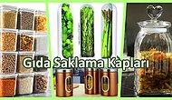 Kuru Bakliyatları ve Dünden Kalan Yemekleri Korumanız İçin Her İhtiyaca Uygun Gıda Saklama Kapları