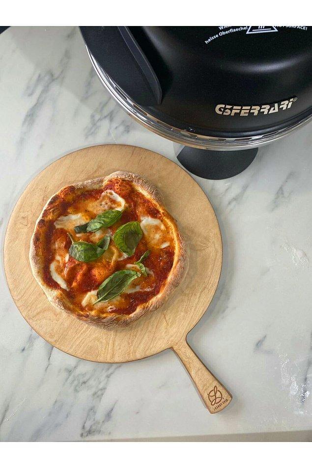3. İtalyan pizzası sevenler için müthiş bir pizza makinesi!