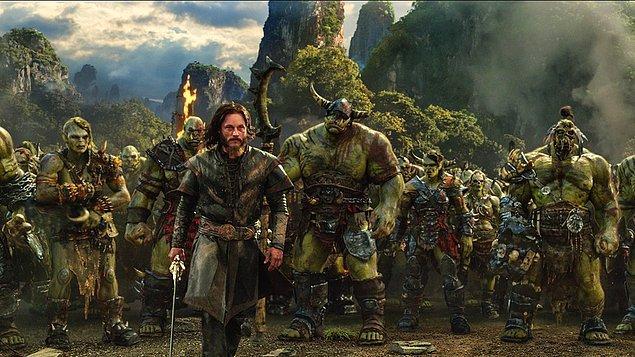 12. Warcraft / Warcraft: İki Dünyanın İlk Karşılaşması (2016) - IMDb: 6.8