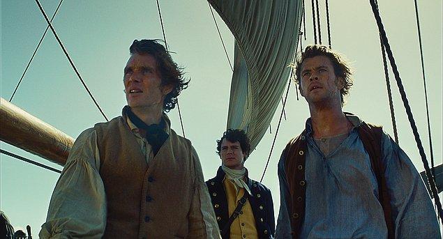 10. In the Heart of the Sea / Denizin Ortasında (2015) - IMDb: 6.9