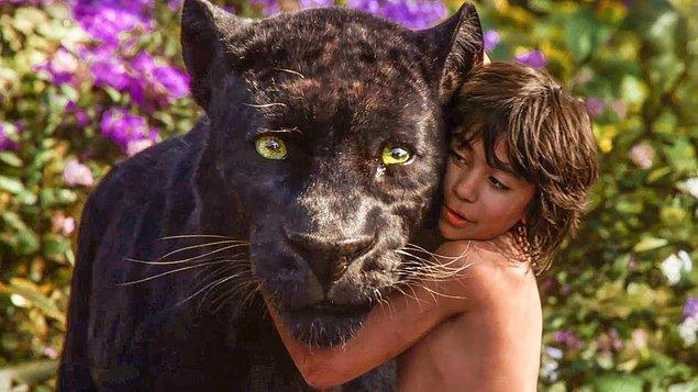 8. The Jungle Book / Orman Çocuğu (2016) - IMDb: 7.4