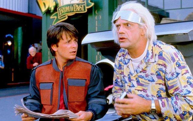 4. Back to the Future / Geleceğe Dönüş (1985) - IMDb: 8.5