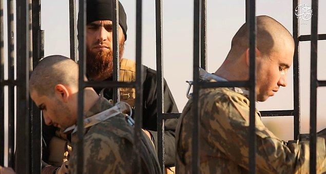 """Gazeteci İsmail Saymaz da geçtiğimiz günlerde yaptığı bir haberde Sefter Taş ve Fethi Şahin'in şehit edilmesi için fetva verdiği iddia edilen """"IŞİD kadısı""""nın adli kontrolle serbest bırakıldığını ve  Gaziantep'te kuşçuluk yaptığını ortaya çıkarmıştı."""
