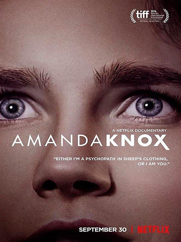 11. Amanda Knox - IMDb: 6.9