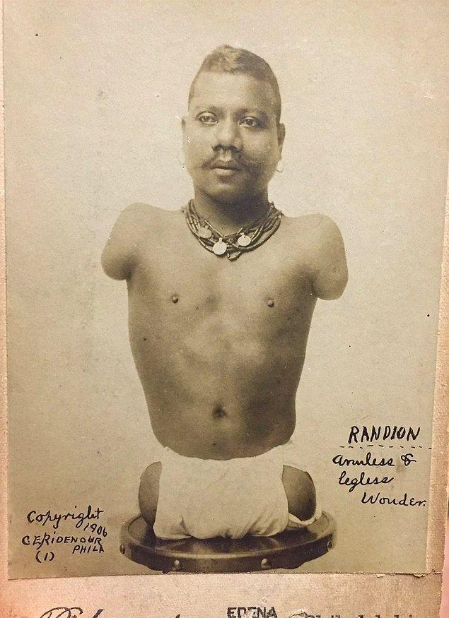 Prens Randian'ı farklı kılan tek şey fiziksel hareketleri değil aynı zamanda çok zeki olmasıydı.