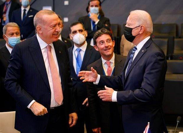 Erdoğan ABD'de: 'Gidiş Pek Hayra Alamet Değil, Biden ile İyi Başladık Diyemem'