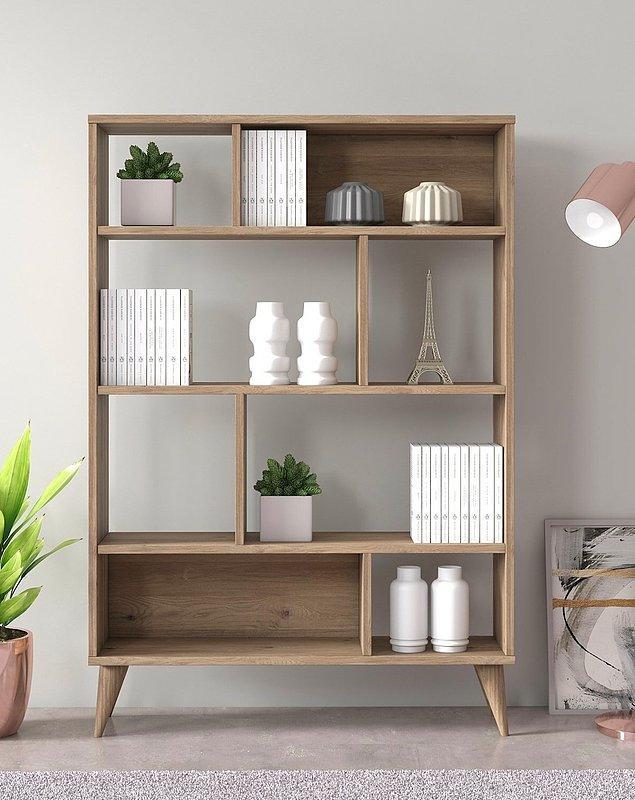 1. Tüm kitaplarınızı alacak farklı bir tasarıma sahip kitaplık için Ruum Store'a bir bakın.