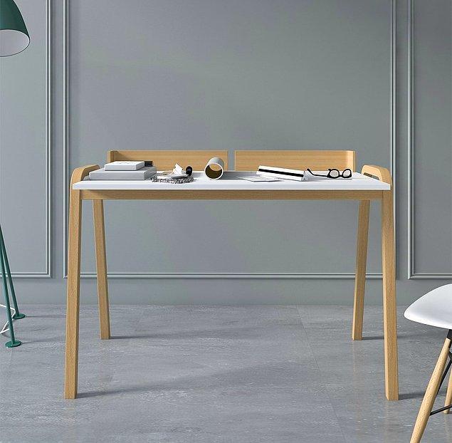 10. Evinizin bir odasını çalışma odası yapacaksanız bu masaya bir bakın.