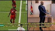 Bunu da Gördük! Interpol Tarafından Aranan Surinam Devlet Başkan Yardımcısı Ronnie Brunswijk Maçta Oynadı