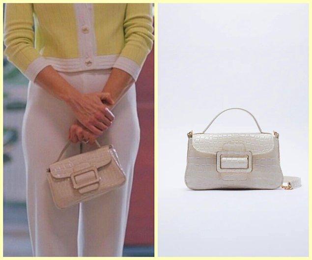 5. Nalan'ın çok beğendiğiniz tokalı çantası Zara...