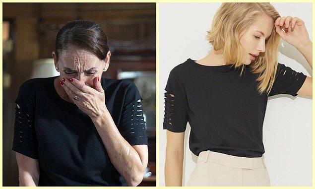 11. Feride'nin kolları ajurlu triko bluzunu kimler beğendi?🙋♀️