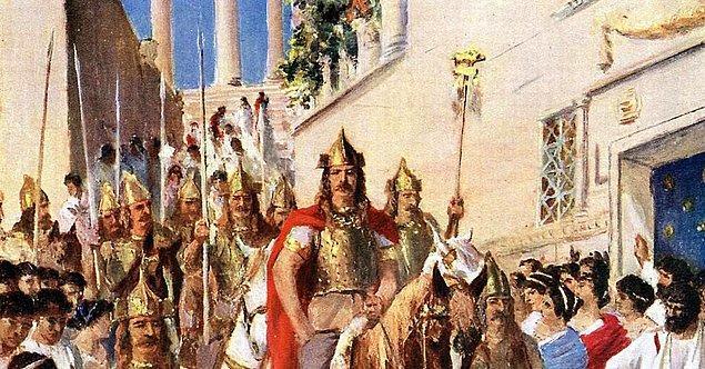 Bu ilerleyiş, Roma'nın sonunu getirdi.