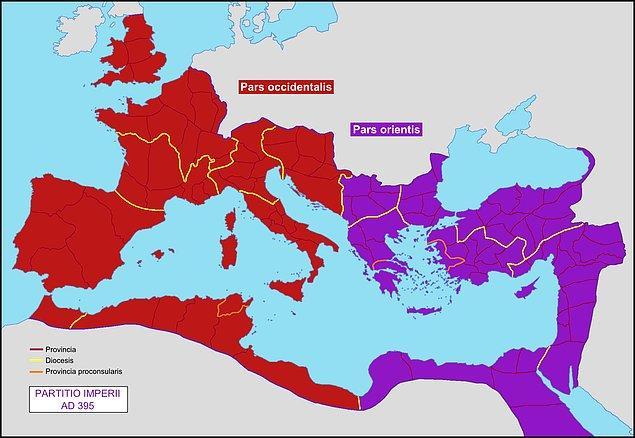 3. Doğu Roma'nın yükselişi.