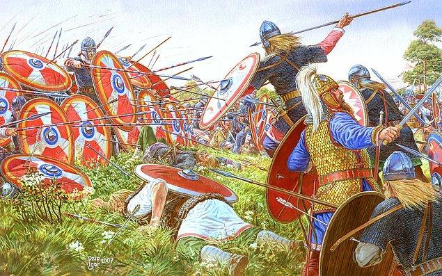 Gotlara gaddarca davranarak kendi sınırları içinde tehlikeli bir düşman yarattılar.