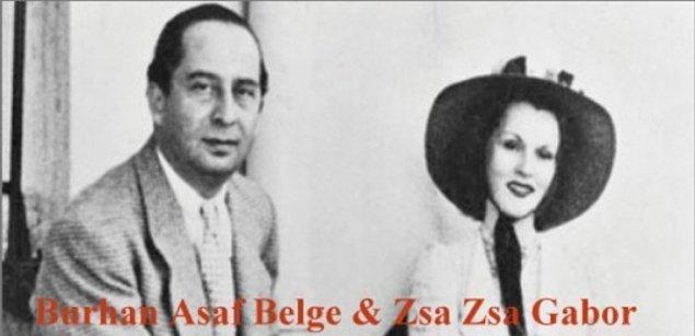 3. Bir dönemin en popüler aktristi Zsa Zsa Gabor, 19 yaşındayken ilk evliliğini Türkiye'de yapmıştı.