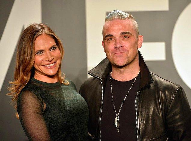 10. Robbie Williams'ın bir Türk'le evlenmesi çok konuşulmuştu.