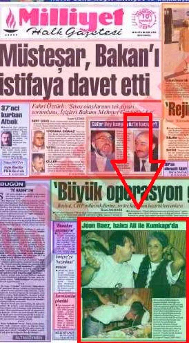 5. Ünlü şarkıcı Joan Baez'in Antalyalı halıcı sevgilisi manşetlere çıkmıştı.