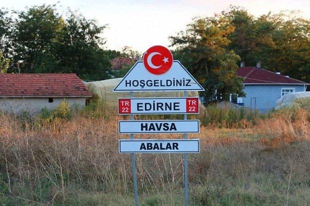 Edirne'de 8 Köyde 'Mavi Dil' Karantinası Başlatıldı