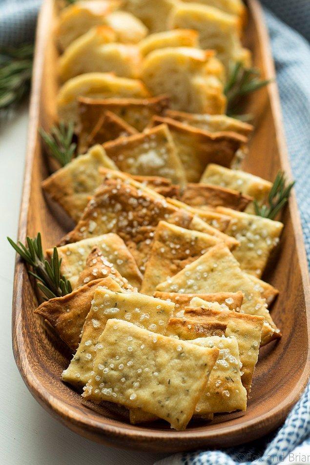 4. Mutlaka denemeniz gereken sağlıklı atıştırmalık kraker, tadı ve görüntüsü ile bir harika!