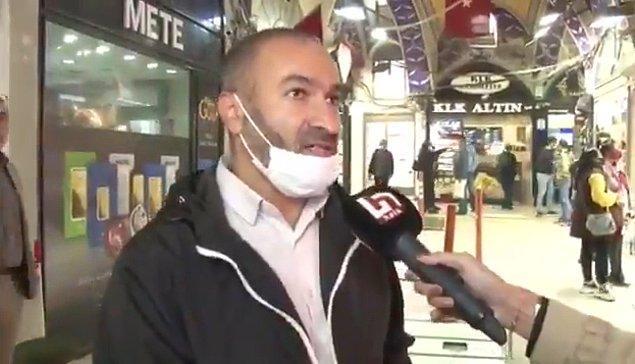 Halk TV muhabiri Dilan Alp, Merkez Bankası'nın faiz indiriminin ardından Kapalıçarşı'da esnaf ve vatandaşlarla söyleşi yaptı.
