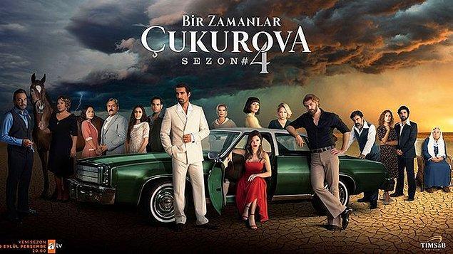 'Bir Zamanlar Çukurova' ise, yıllardır birinciliği nadir olarak kaptırsa da, perşembenin açık ara en iyi dizisiydi. 4. sezonda da başarılı olacağına emindik.
