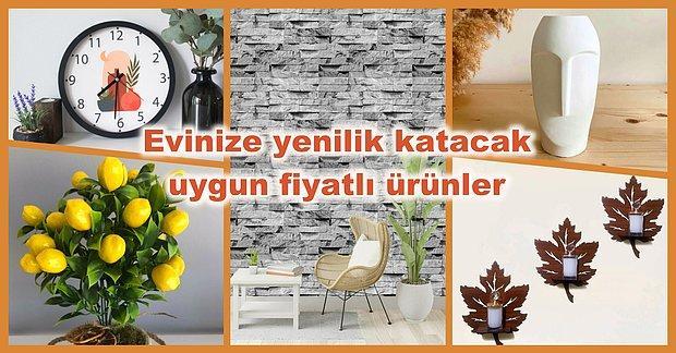 Ev Dekorasyonunda Seni Mutlu Edebilecek 99 TL Altı Harika Ürünler