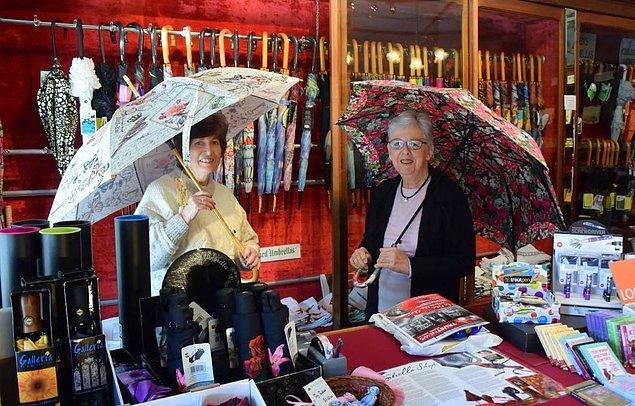 15. Avustralya'da bulunan Eski Şemsiye Dükkanı