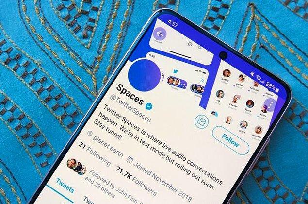 Son dönemin önemli platformlarından Clubhouse benzeri sesli sohbet odaları fikri ile kullanıcılarına para kazanmanın kapılarını aralayan Twitter, Spaces adlı özelliğini aktif hale getirmişti.