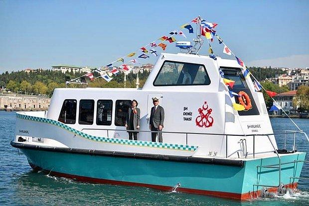 İstanbul'un Deniz Taksileri Suya İndirildi
