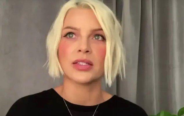 Günlük hayatta Lauren German güzelliği 💛