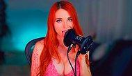 Twitch Canlı Yayınında Mikrofon Yalayarak Ayda 1.5 Milyon Dolar Kazanan Kadın: Amouranth