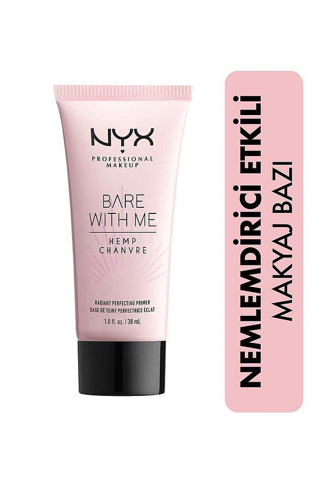 8. Nyx nemlendirici etkili makyaj bazı ile cildinizi tek adımda kolayca makyaja hazırlayabilirsiniz.