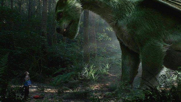 13. Pete's Dragon - Pete ve Ejderhası (2016) - IMDb: 6.7