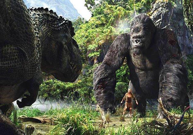 10. King Kong (2005) - IMDb: 7.2
