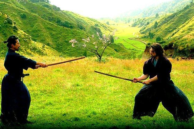 5. The Last Samurai (2003) - IMDb: 7.7
