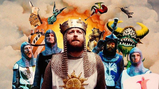 1. Monty Python and the Holy Grail (Monty Python ve Kutsal Kase) - IMDb: 8.2