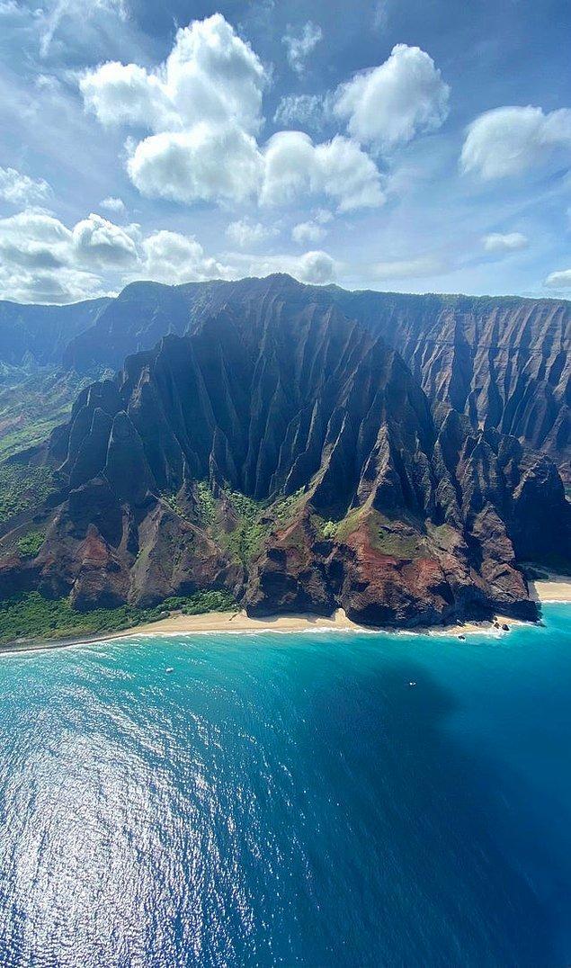 1. Nā Pali Coast - Amerika: